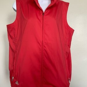 adidas Jackets & Coats - Adidas Womens Sz L Sleeveless Golf Vest Cl…